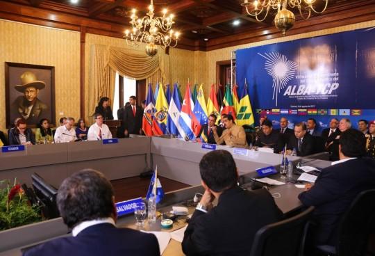 Maduro-en-reunión-del-ALBA-TCP