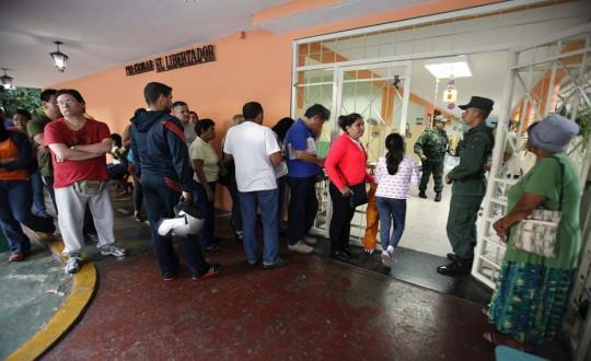 LOS VENEZOLANOS ELIGEN HOY A SU NUEVO PRESIDENTE